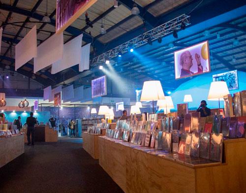 Exhibición Libros Argentina invitado feria del libro 2018 Bogotá diseño por Unique Concept